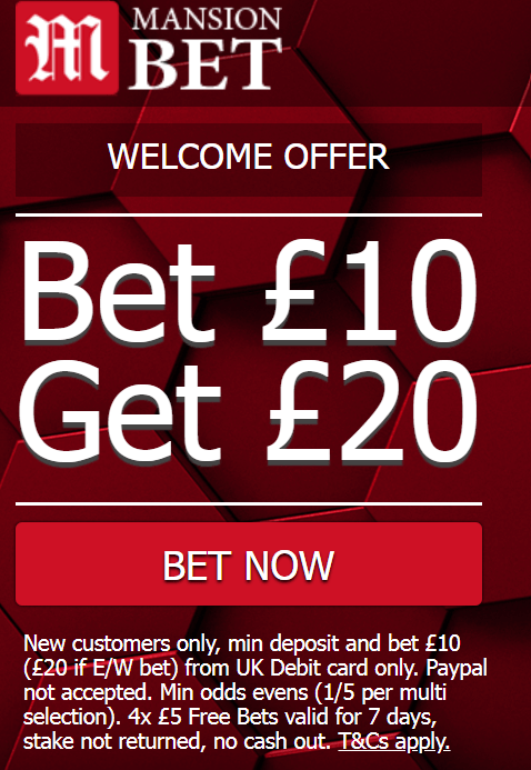 MansionBet Sign up offer