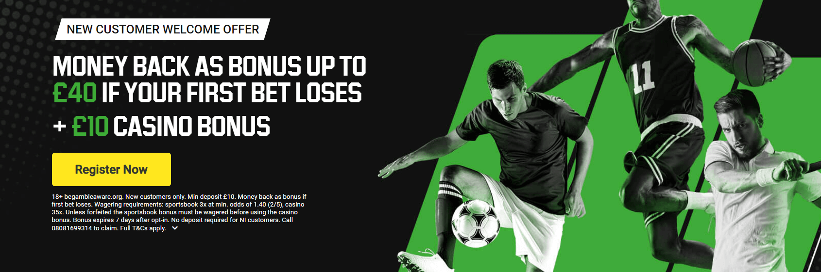 Unibet welcome offer