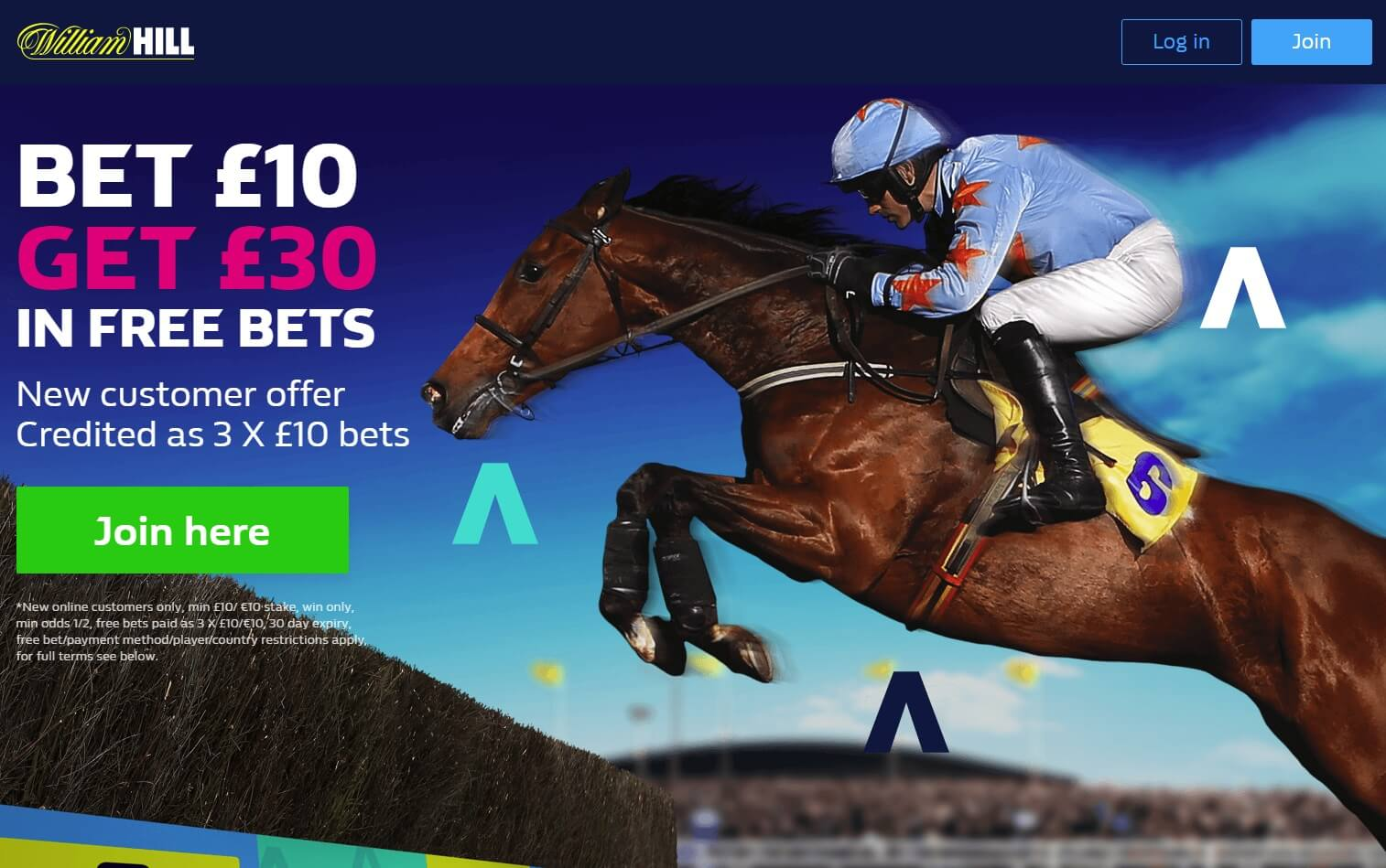 William Hill Bonus Code